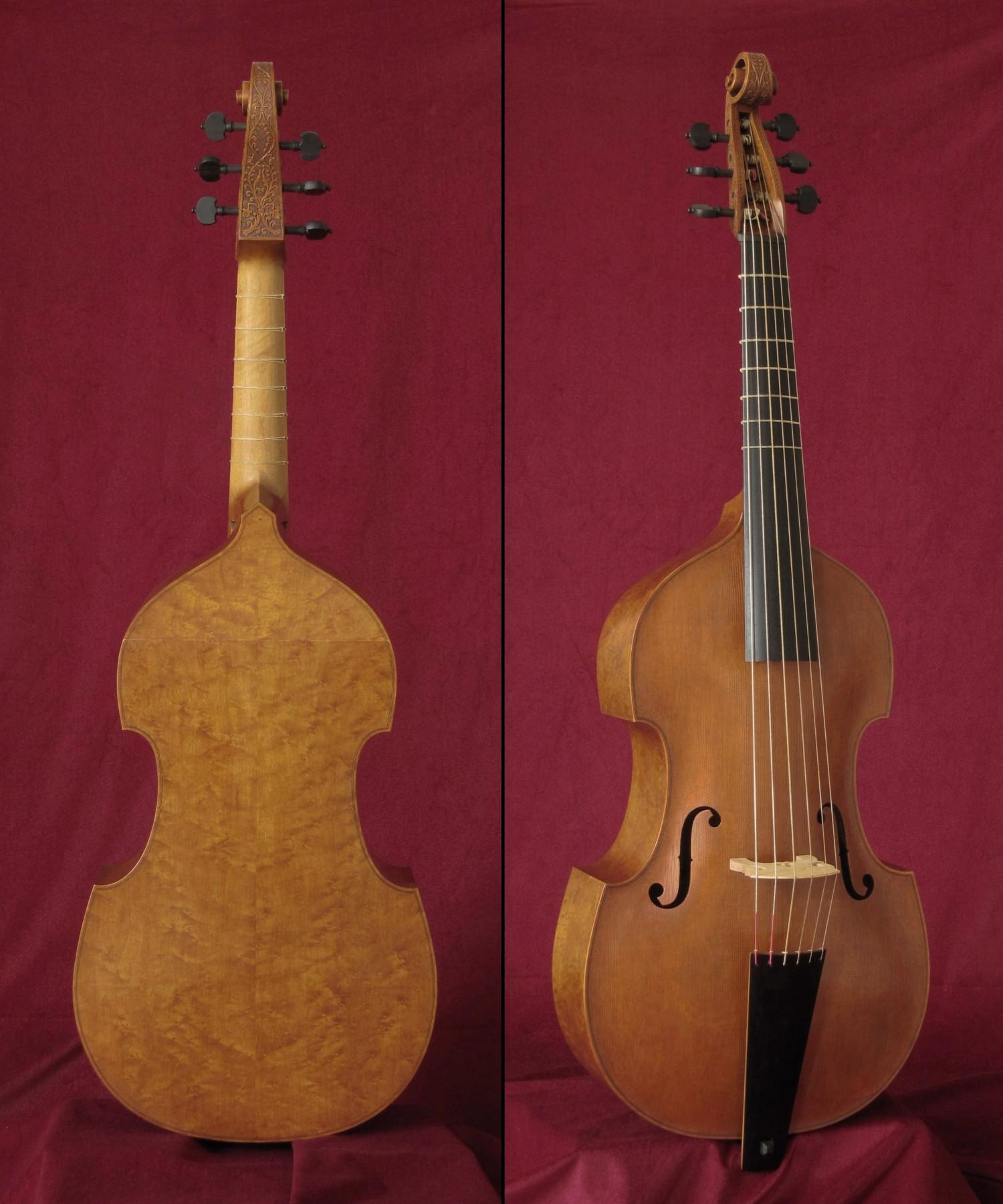 Viola bajo modelo J. Stainer