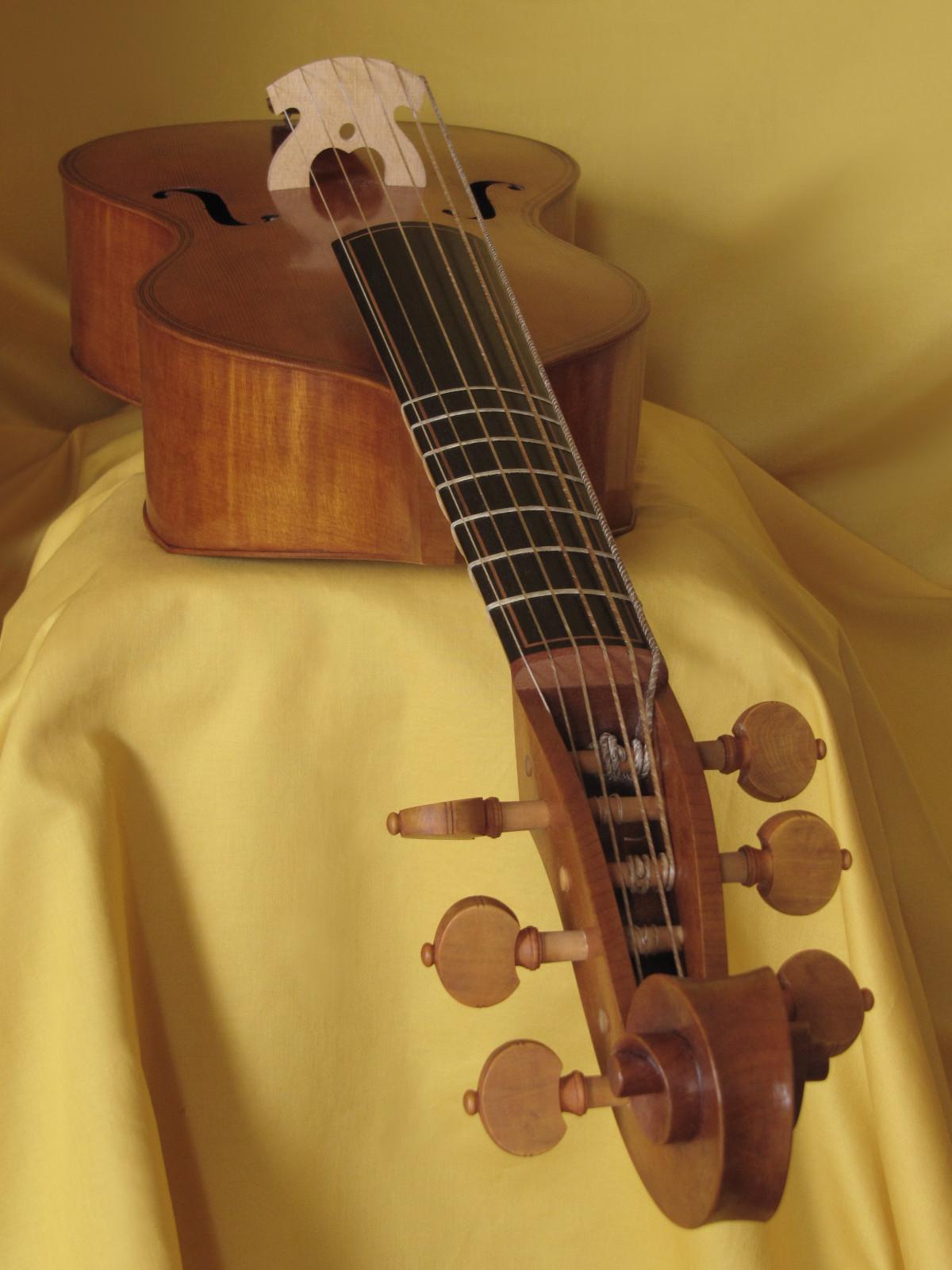 Viola tenor modelo Gasparo da Salo