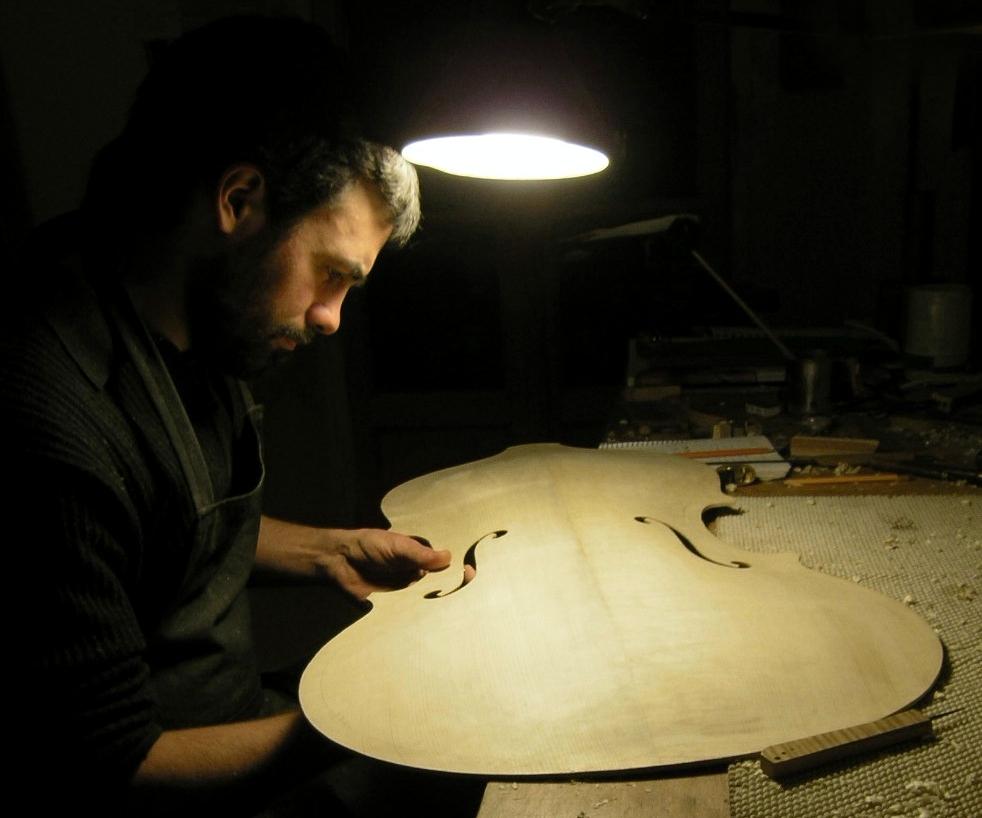 Violone modelo G. Paolo Maggini