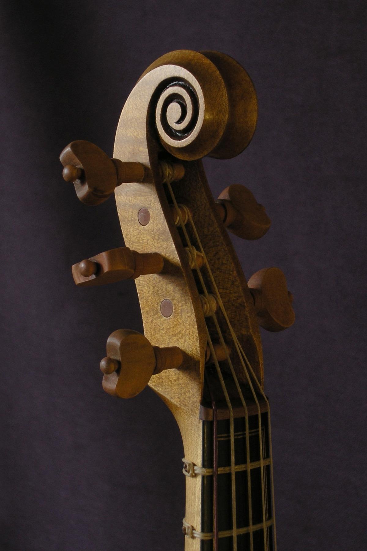 Viola soprano de 5 cuerdas modelo G.M. da Brescia
