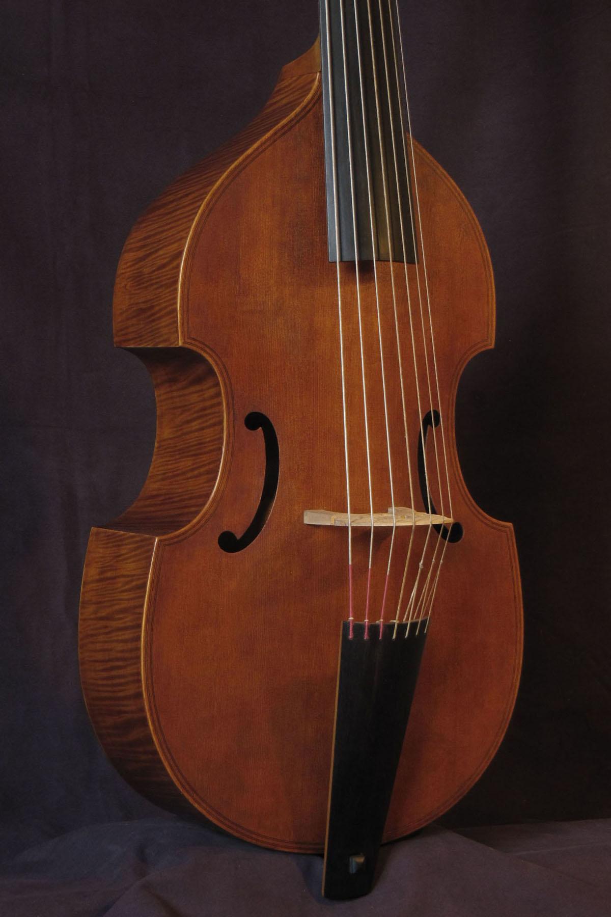 Viola bajo modelo R. Cheron