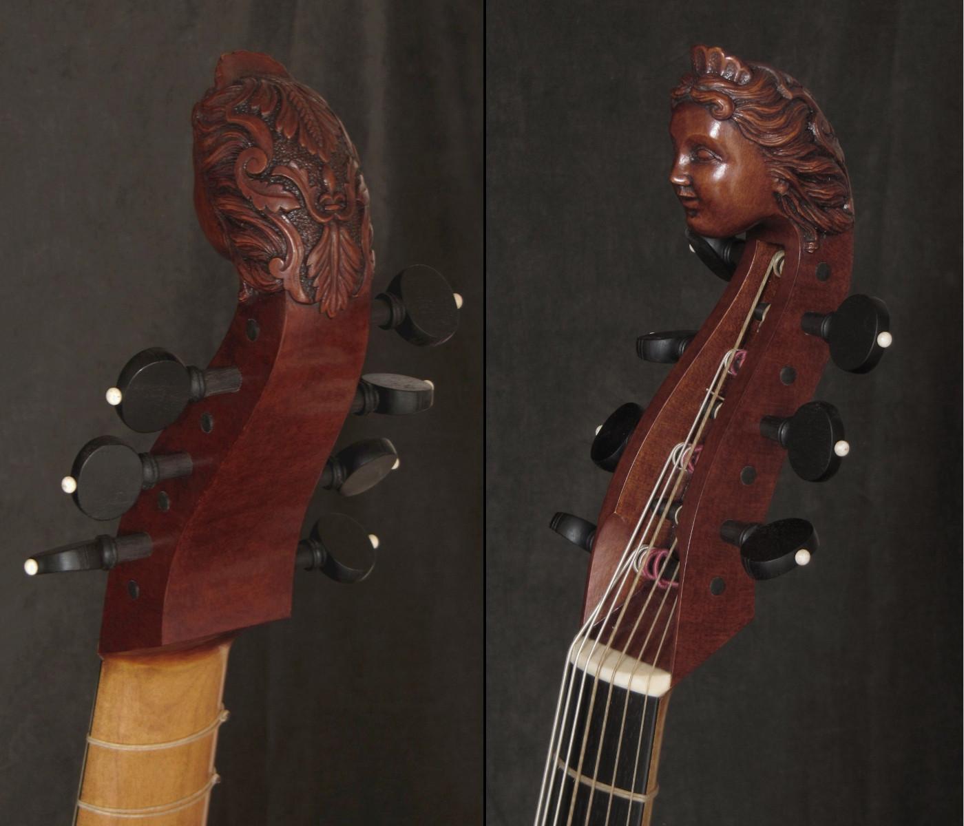 Viola bajo modelo N. Bertrand